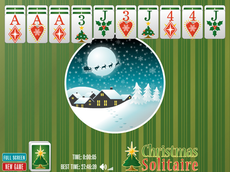 Click to view Christmas Spider Solitaire 1.0 screenshot